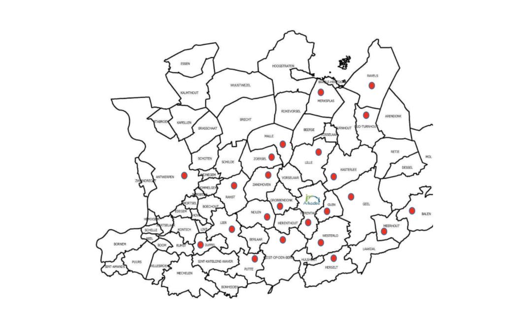Geografische spreiding leerlingen